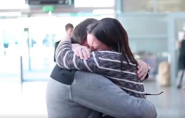Roisin was reunited with her dad thanks to 96fm