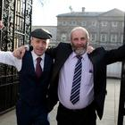 The Healy-Rae brothers Michael D (left) and Danny. Photo: Tom Burke