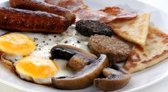 The fry-up. Stock photo: Joerg Beuge