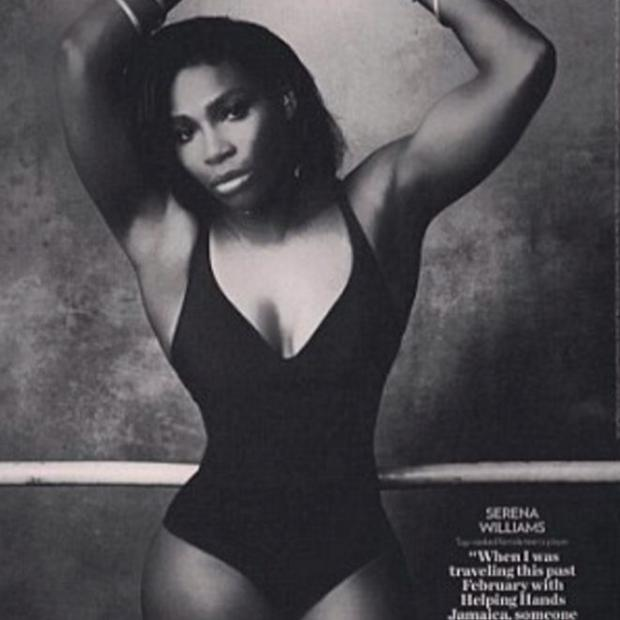 The now-deleted photo of Serena Williams Credit: People/Serena Williams