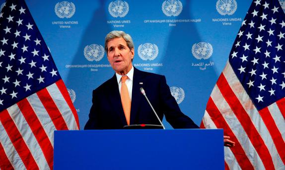 John Kerry said Aleppo must be included in ceasefire. Photo: Getty