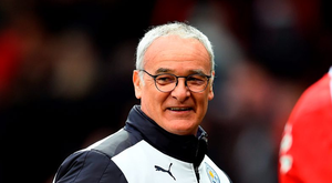 Claudio Ranieri: 'I will be the last man in England to know the result' Photo: Getty