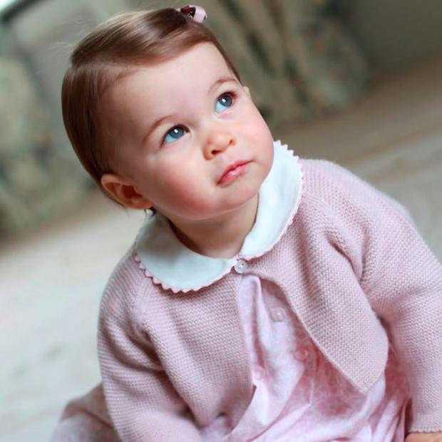 New images released by the Duchess of Cambridge celebrate her daughter's first birthday C