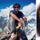 Alex Lowe (left) and David Bridges died in an avalanche in October 1999