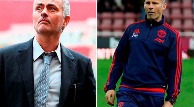 Jose Mourinho and Ryan Giggs