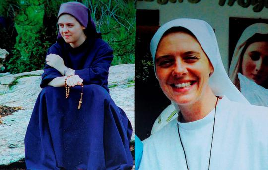 Sister Clare Crockett, who was killed in an earthquake in Ecuador. Photo: Family Handout/PA Wire