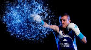Paddy Barnes, who will act as flagbearer for Team Ireland in Rio, is aiming to make sparks fly at the Olympic Games. Photo: Stephen McCarthy/Sportsfile