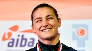Ireland's Katie Taylor. Photo: Paul Mohan / Sportsfile