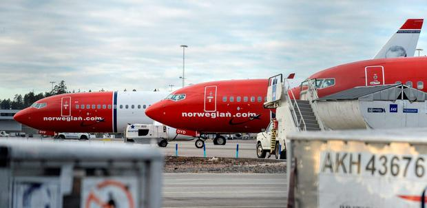 Norwegian Air International is also planning US flights from Cork this summer but may have to delay the launch. REUTERS/Johan Nilsson/TT News Agency/File Photo