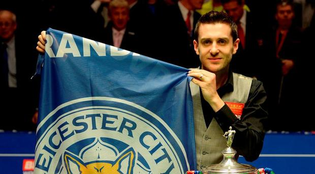 Mark Selby won his second World title of his career. Photo: Gareth Copley/Getty Images