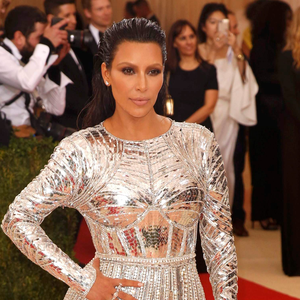 "Kim Kardashian arrives at the Metropolitan Museum of Art Costume Institute Gala (Met Gala) to celebrate the opening of ""Manus x Machina: Fashion in an Age of Technology"" in the Manhattan borough of New York, May 2, 2016. REUTERS/Lucas Jackson"