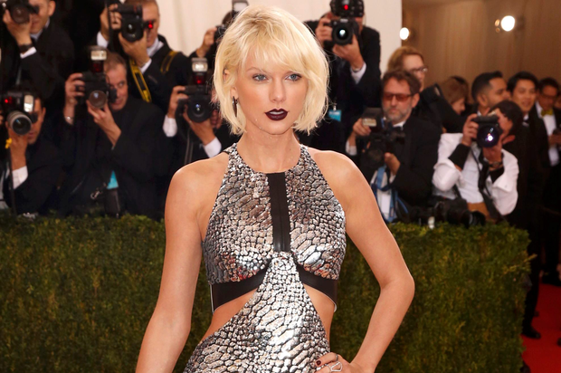 Singer-Songwriter Taylor Swift arrives at the Metropolitan Museum of Art Costume Institute Gala (Met Gala) to celebrate the opening of