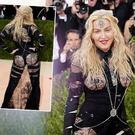 Madonna's outfit at the Met Gala Ball