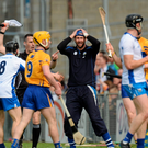Waterford selector Dan Shanahan reacts during the game. Allianz Hurling League Division 1 Final, Clare v Waterford. Semple Stadium, Thurles, Co. Tipperary. Picture credit: Piaras Ó Mídheach / SPORTSFILE