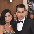 "Colin Farrell and Claudine Farrell attend the ""Manus x Machina: Fashion In An Age Of Technology"" Costume Institute Gala at Metropolitan Museum of Art on May 2, 2016 in New York City. (Photo by Dimitrios Kambouris/Getty Images)"