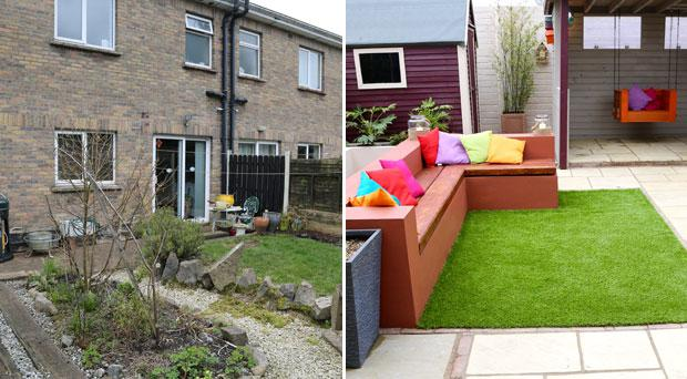 Gerry McDonald's garden designed for the Egan family on RTE's Super Garden