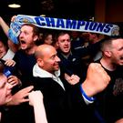 Leicester City fans celebrate winning the Premier League title (Getty Images)