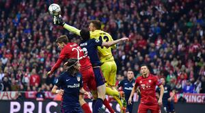 Atletico Madrid's Slovenian goalkeeper Jan Oblak makes a save (Getty Images)