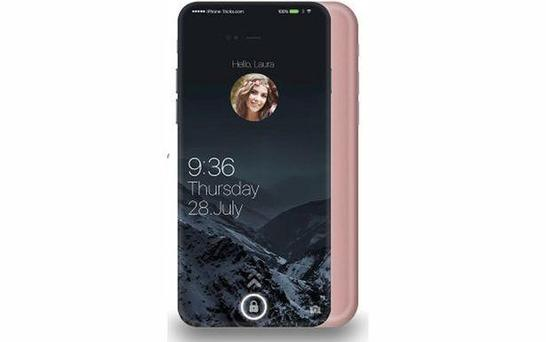 Concept art for how the iPhone may appear