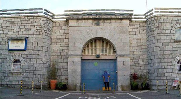 Cork Prison where the incident happened