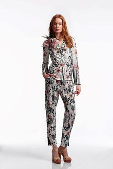 Co-ords and florals: Jacket, €70 and trousers, €50; wallis.co.uk