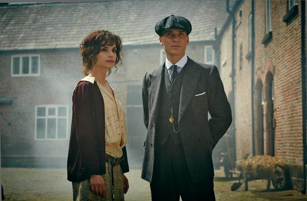 Charlotte Riley as May in Peaky Blinders
