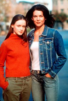The way they were: Gilmore girls Rory (Alexis Bledel) and Lorelai (Lauren Graham).