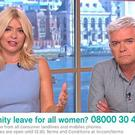 Holly Willoughby and Philip Schofield were not impressed with Meghann Foye's 'ME-ternity' concept