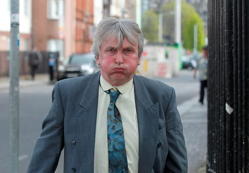 Fergal ORourke pictured leaving Dublin High Court Pic Collins Courts