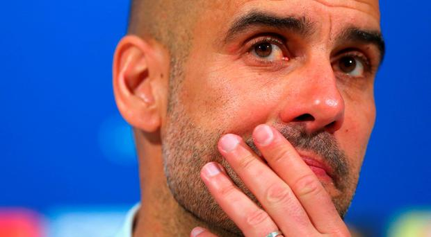 Pep Guardiola has failed to win the Champions League with Bayern Munich (Getty Images)