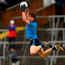 Con O'Callaghan flies through the air during Dublin's victory over Kildare. Photo: Paul Mohan/Sportsfile