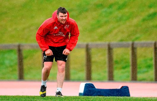 Munster's Peter O'Mahony (SPORTSFILE)
