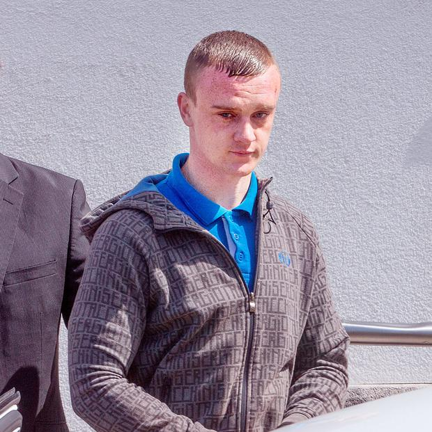 Jamie O'Brien who appeared at Bray District Court. Photo: Tony Gavin