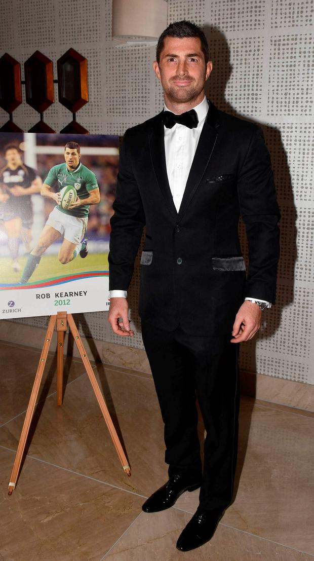 Rob Kearney pictured at The Zurich IRUPA Rugby Players Awards 2016 at the Doubletree Hilton, Dublin, Ireland - 04.05.16. Pictures: Cathal Burke