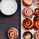 Cinnamon buns from Violet Bakery.