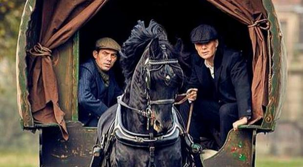 Packy Lee and Cillian Murphy in Peaky Blinders