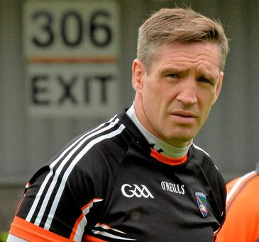 Armagh manager Kieran McGeeney Photo: Sportsfile