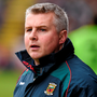 Mayo manager Stephen Rochford (p) is trimming back his squad ahead of the Connacht Championship Photo: Sportsfile