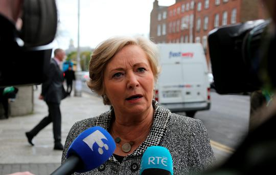 Frances Fitzgerald Photo: Tom Burke