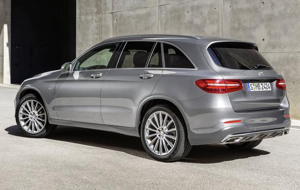 Mercedes-Benz GLC 350e 4MATIC EDITION 1, Selenite Grey, AMG Line, Exterior