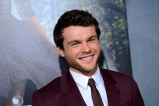 HOLLYWOOD, CA - FEBRUARY 06: Actor Alden Ehrenreich attends the premiere of Warner Bros. Pictures'