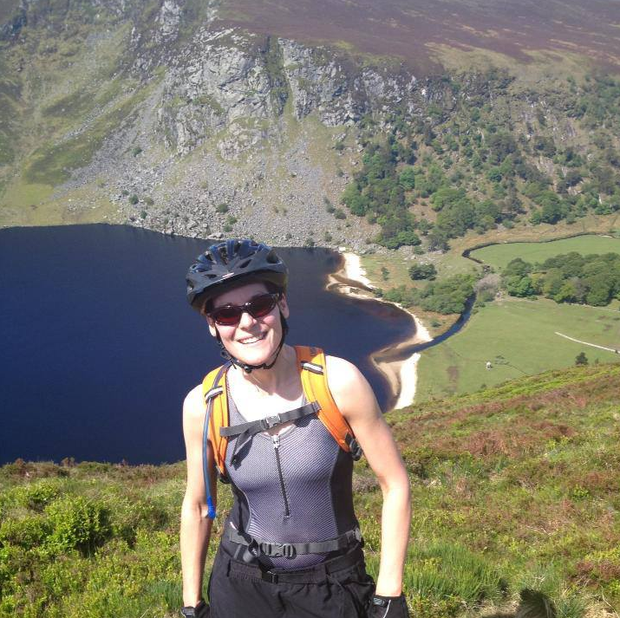 Martina was an avid mountain biker before she was struck down with Lyme disease.
