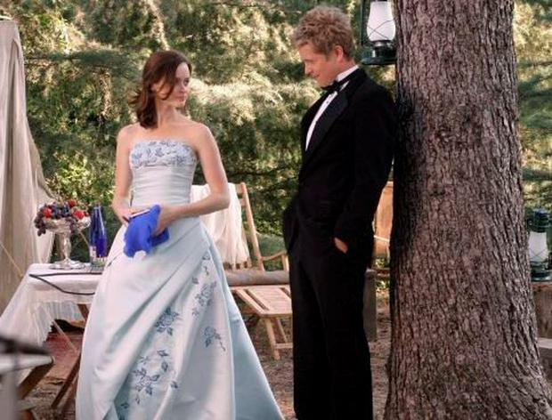 Rory and Logan in Gilmore Girls