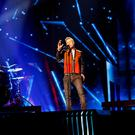 Nicky Byrne on stage