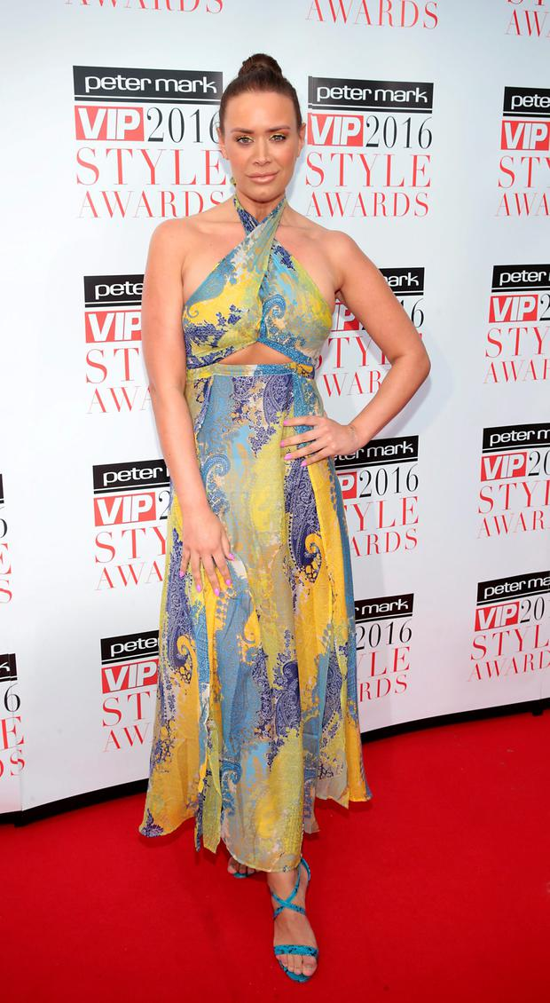 Joanne Larby at The Peter Mark Vip Style Awards 2016 at the Marker Hotel, Dublin. Picture:Brian McEvoy