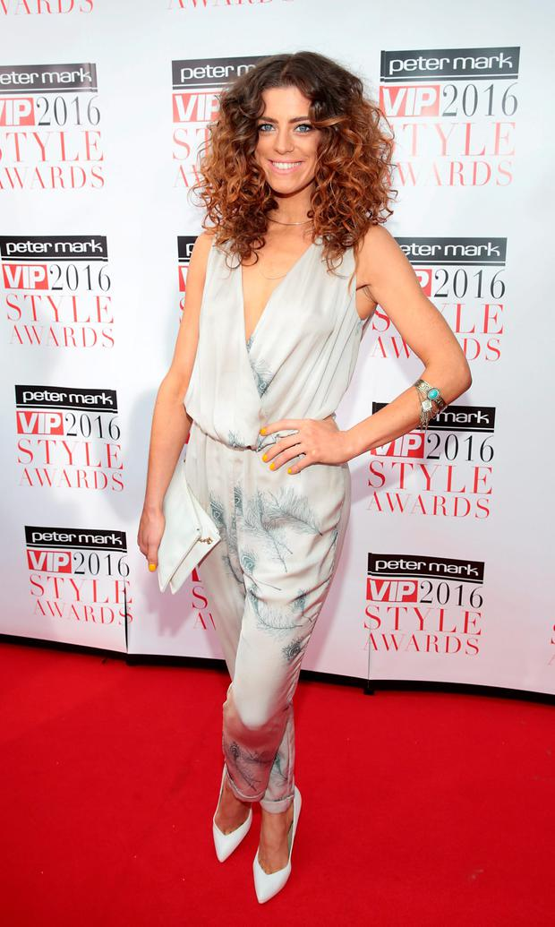 Aoibhinn McGinnity at The Peter Mark VIP Style Awards 2016 at the Marker Hotel, Dublin. Picture: Brian McEvoy