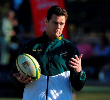 Rassie Erasmus has his own unique way of doing things