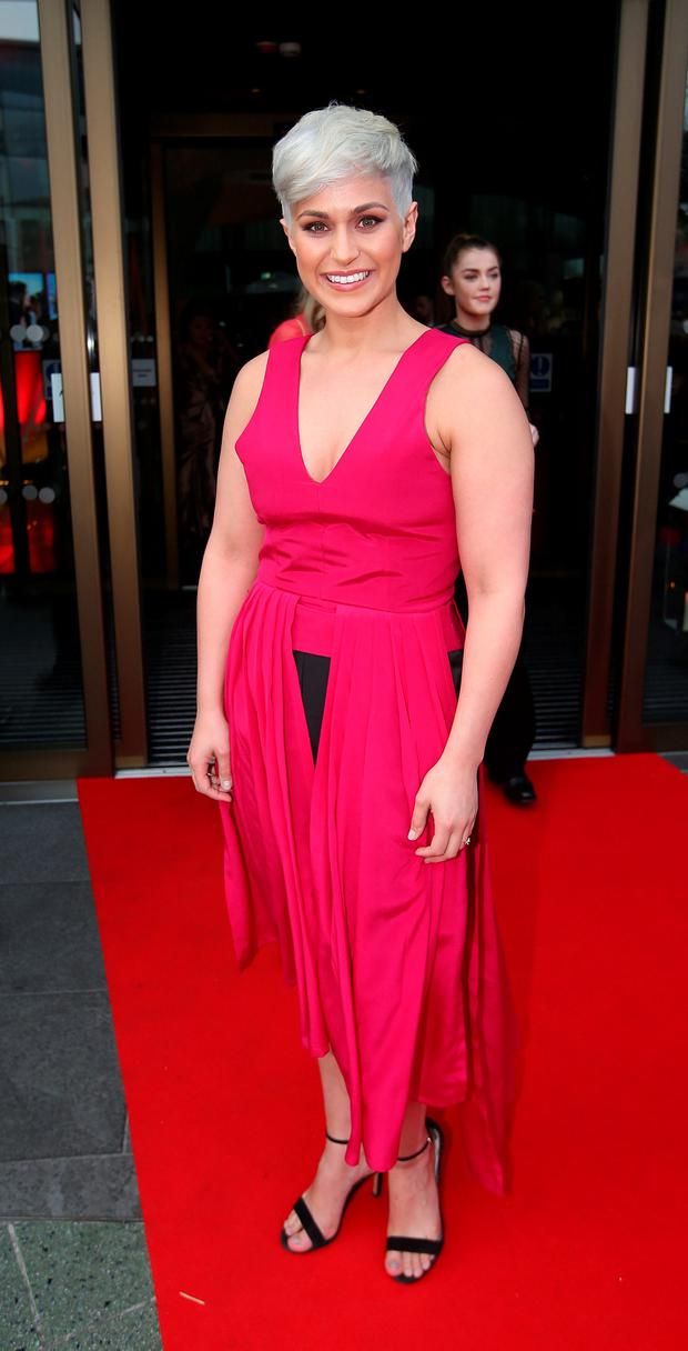 Maria Walsh at the VIP Style Awards. Pic: Damien Eagers