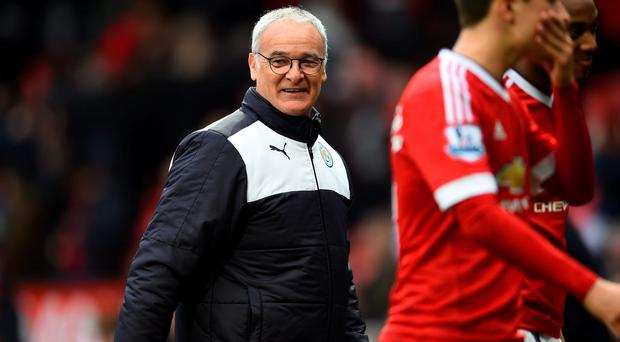 Claudio Ranieri and his Leicester team will receive the Premier League trophy tonight (Getty Images)