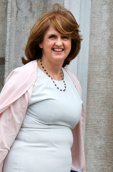 Labour Party leader Joan Burton Photo: Tom Burke